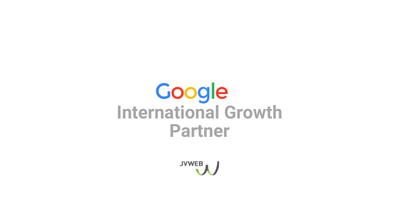 JVWEB intègre le Google Partners International Growth Program