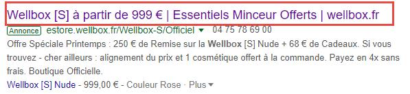 accroche annonce google ads