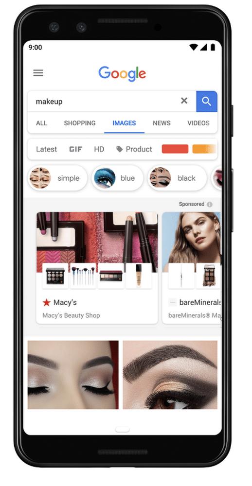 showcase shopping google image